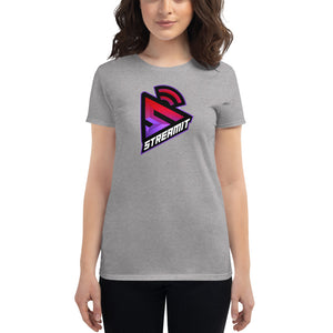 StreamIT Vloggers Women's Cryptocurrency Short-Sleeve T-Shirt