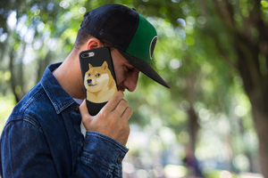 Doge Coin Cryptocurrency iPhone Case
