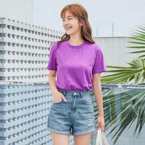 Women New Cotton t-shirts
