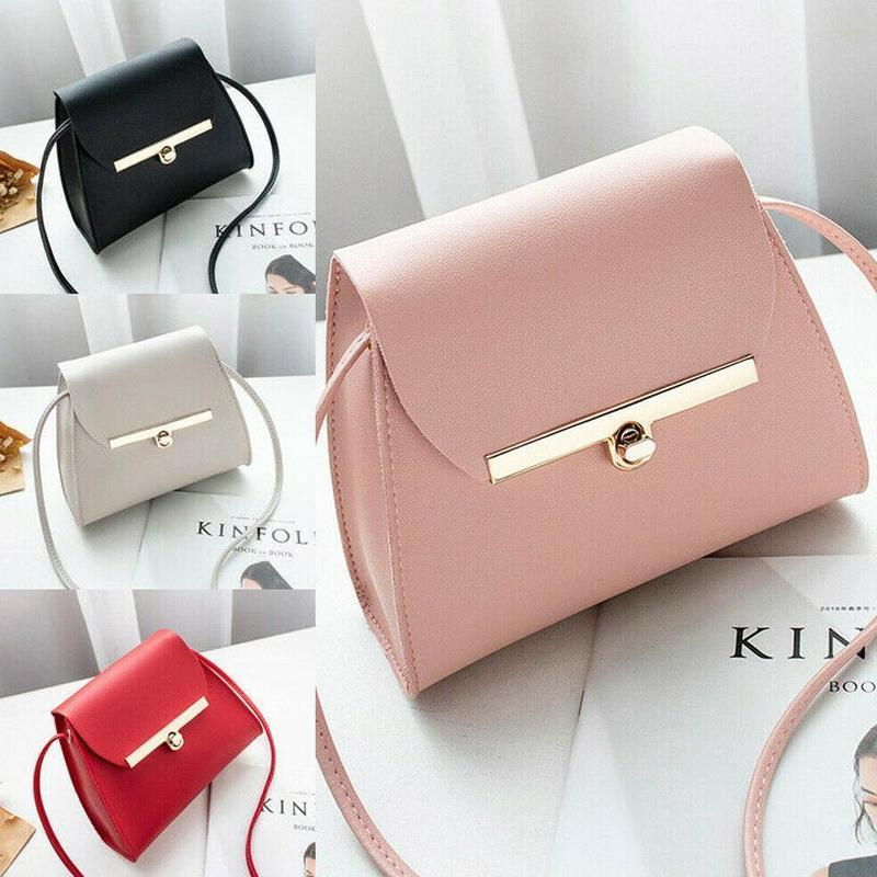 Women Handbag Buckle Small Tote Bag