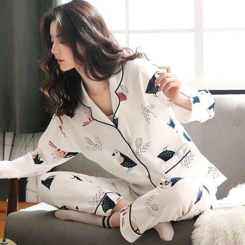 Print Long Sleeve Pajama