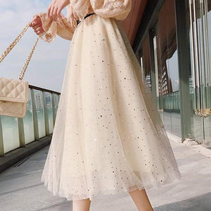 Layers Tiered Tulle Skirt