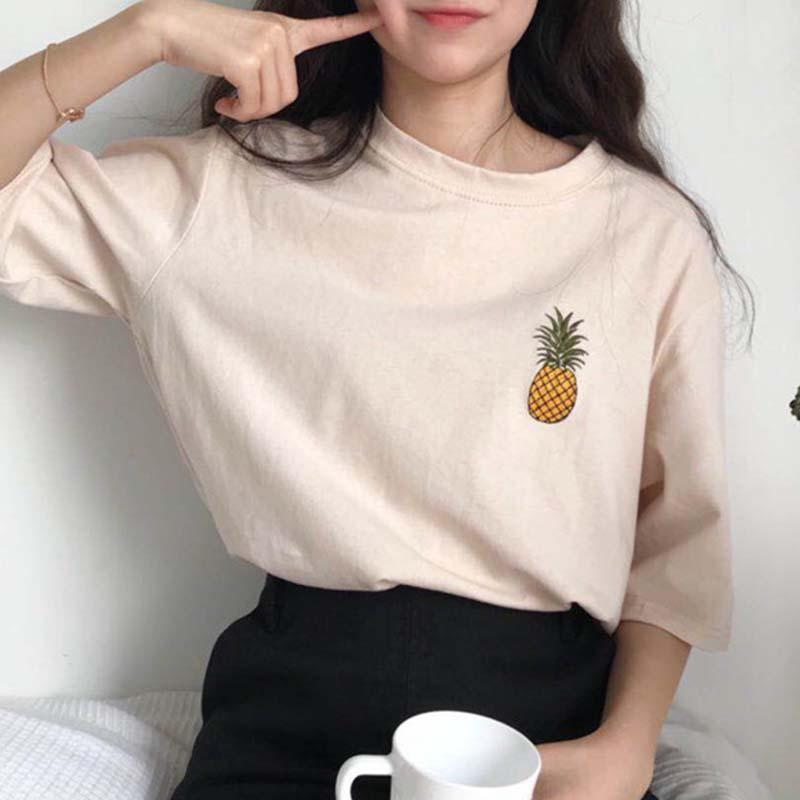 Female Fashion Casual T-shirt