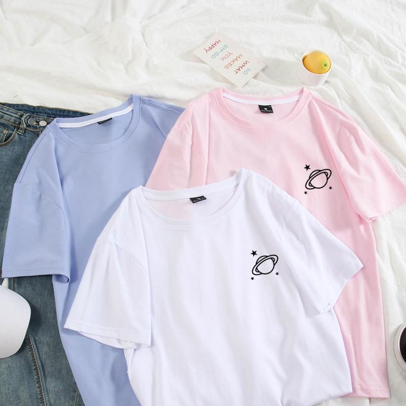 T shirt Couple Summer Cotton