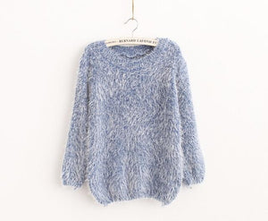 Women Candy Colors Sweaters