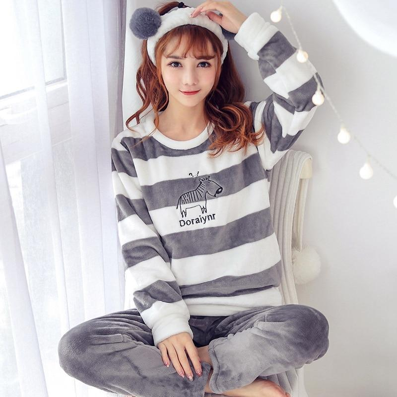 Pajama Set Nightwear Suit