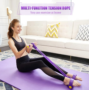 (50% OFF TODAY)  Multi-Function Resistance Bands With Handle