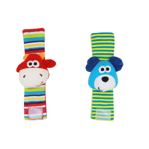 Baby Socks Rattle Toy