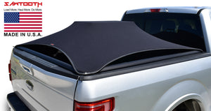expandable tonneau cover on silver ford f150