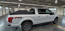 Load image into Gallery viewer, ford pickup with soft roll up expandable truck bed cover in garage