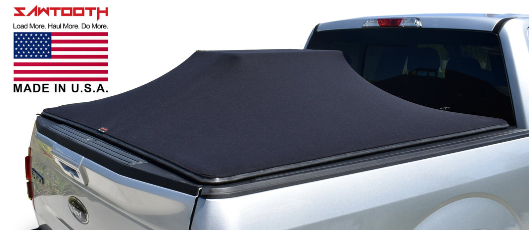 SAWTOOTH Expandable Tonneau Cover | Fits 2017 - Present Ford F-250 / F-350, 8'-2