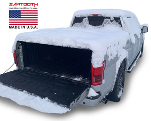 "SAWTOOTH Expandable Tonneau Cover | Fits 2016 - Present Toyota Tacoma, 6'-2"" Bed"