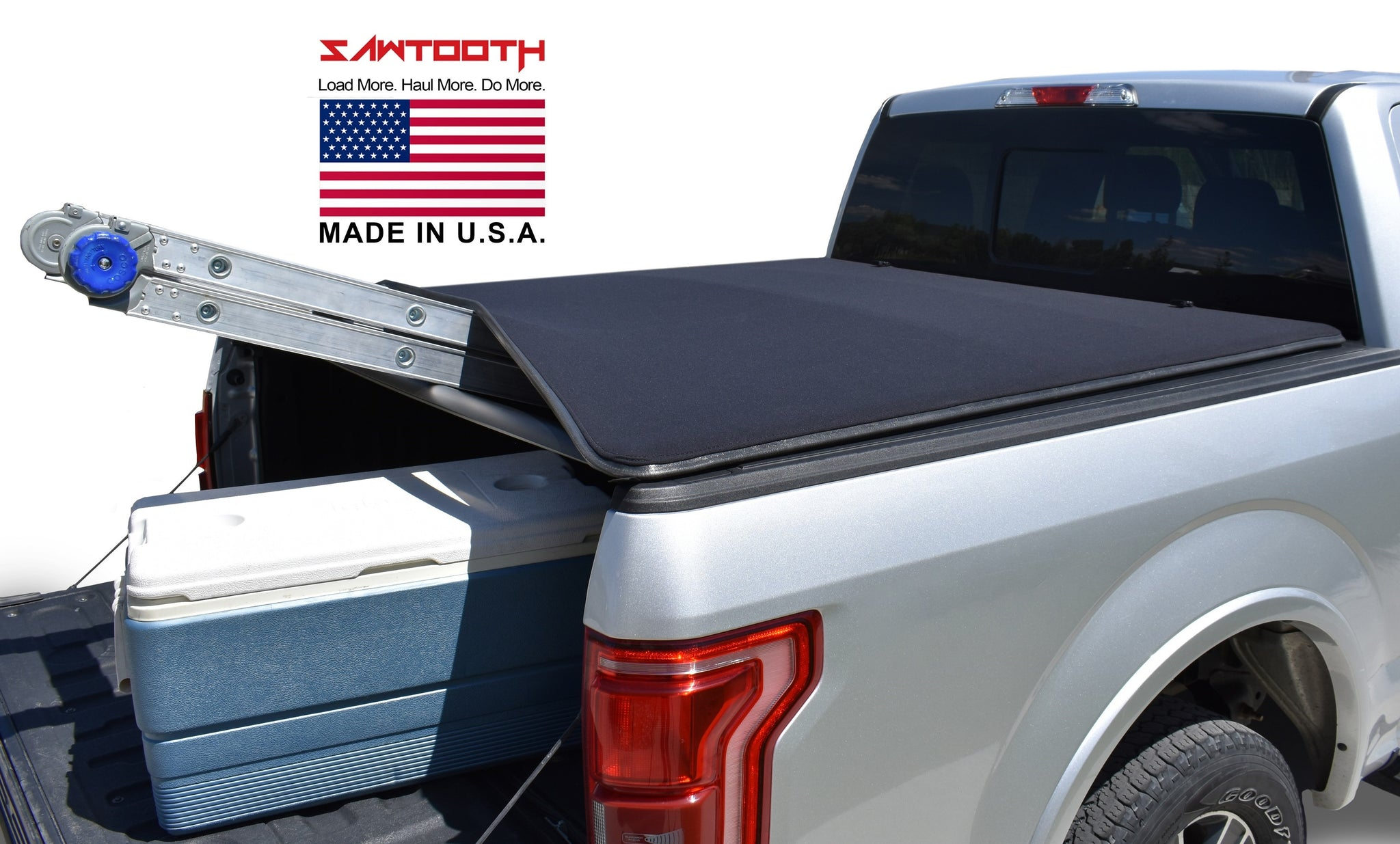 Sawtooth Stretch Expandable Roll Up Tonneau Cover Fits 2020 Present Jeep Gladiator 5 Bed Pickup Trucks
