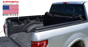 expandable soft roll up tonneau cover jeep gladiator