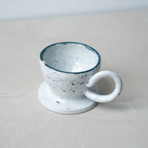 Speckled Espresso Cup