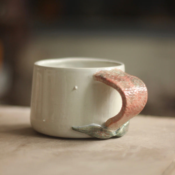 "Mermaid Mug ""D"""