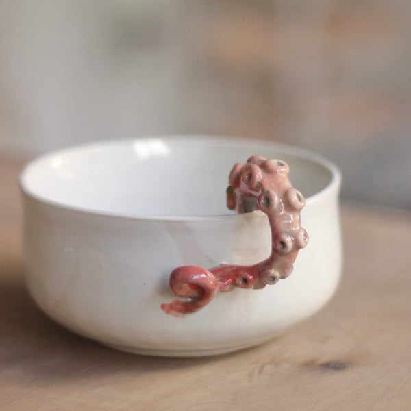 Red Octo Bowl