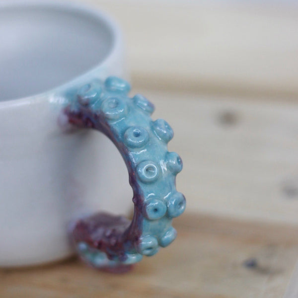 Purple & Teal Octo Mugs (Small)