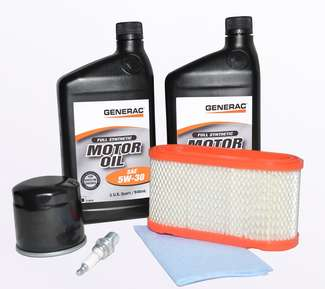 Generac Generator Part - 0J57830SSM - 432CC GASEOUS KIT 5W30 SYN OIL