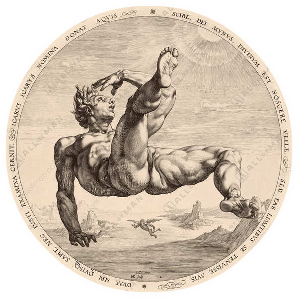 Icarus, from The Four Disgracers