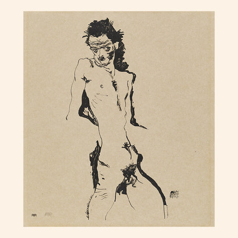 Male Nude (Self-Portrait) I