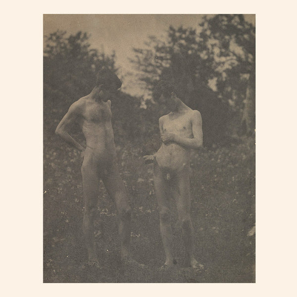 Nude Men in the Garden