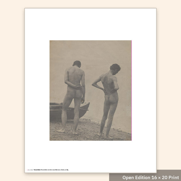 Thomas Eakins and John Laurie Wallace on a Beach