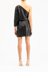 One-shoulder mini-dress