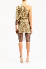 Golden Sequins Dress