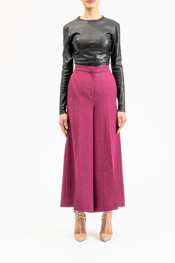 Ankle-length culotte