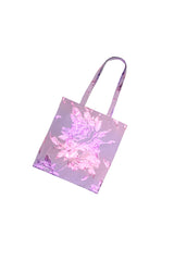 Bag with floral pattern