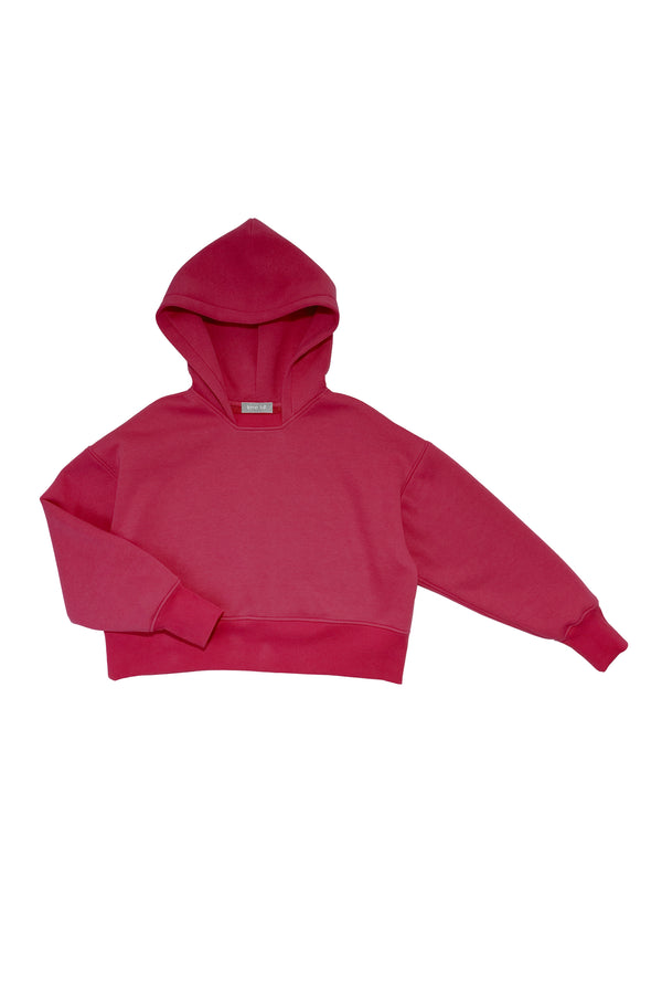 Cropped oversize-hoodie