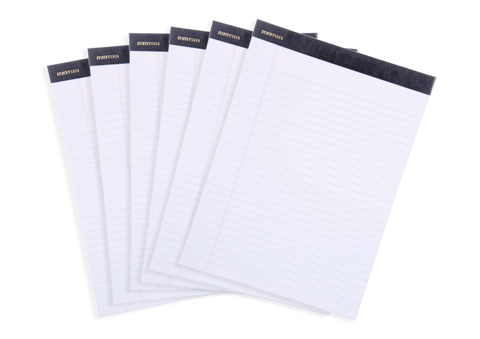 Mintra Office-Legal Pads (Premium Letter-White-Wide Ruled) 36 Pack - Mintra USA