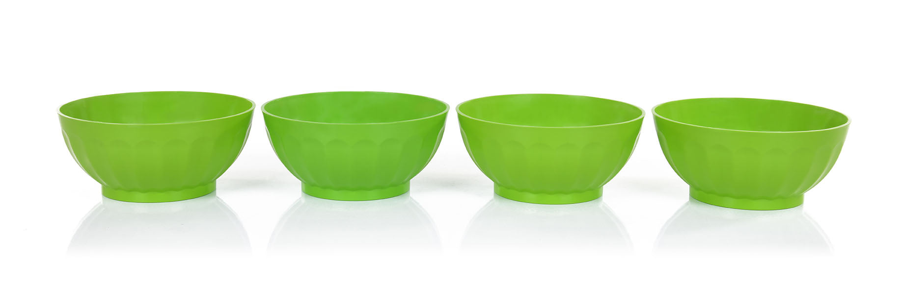 Mintra Unbreakable Plastic Bowl - 4 Pack Large 1.8 L - Mintra USA