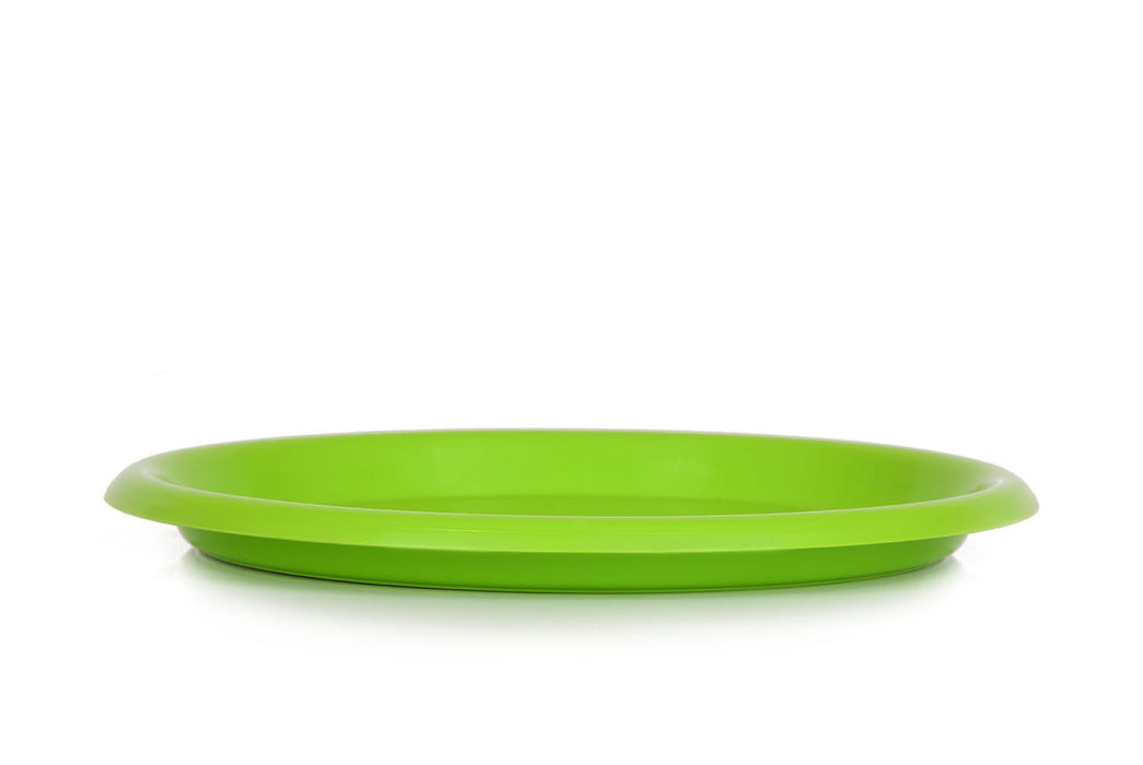 Mintra Home - Large Plastic Plates 8.5in 12 Pack - Mintra USA
