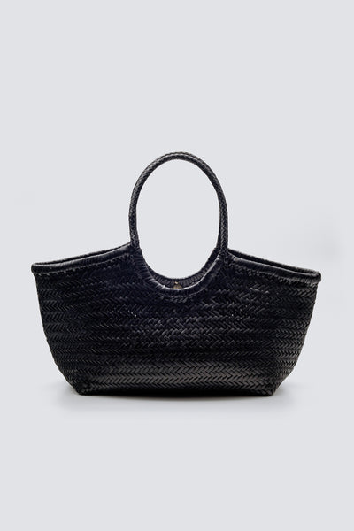 Dragon Diffusion woven leather bag Nantucket Big Black