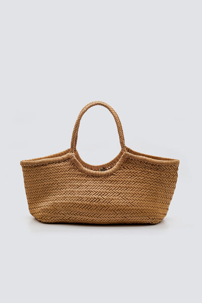 Dragon Diffusion woven leather bag Nantucket Big Natural