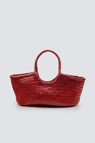 Dragon Diffusion woven leather bag Nantucket Big Red