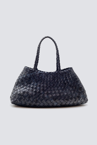 Dragon Diffusion woven leather bag Santa Croce Big Marine