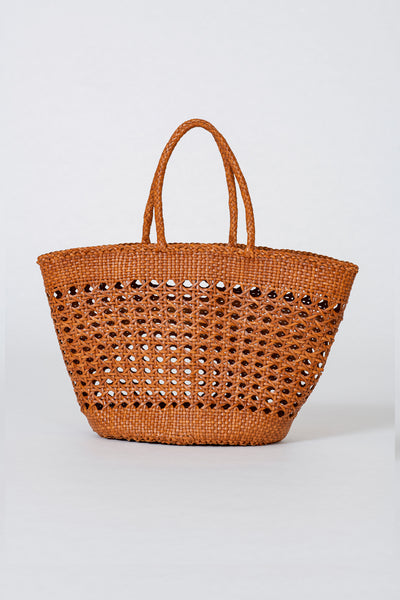 Dragon Diffusion woven leather bag Cannage Market XL