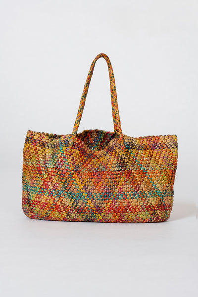 Dragon Diffusion woven leather bag Octo Multi