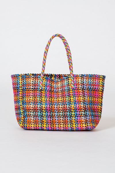 Dragon Diffusion woven leather bag Flower Multi