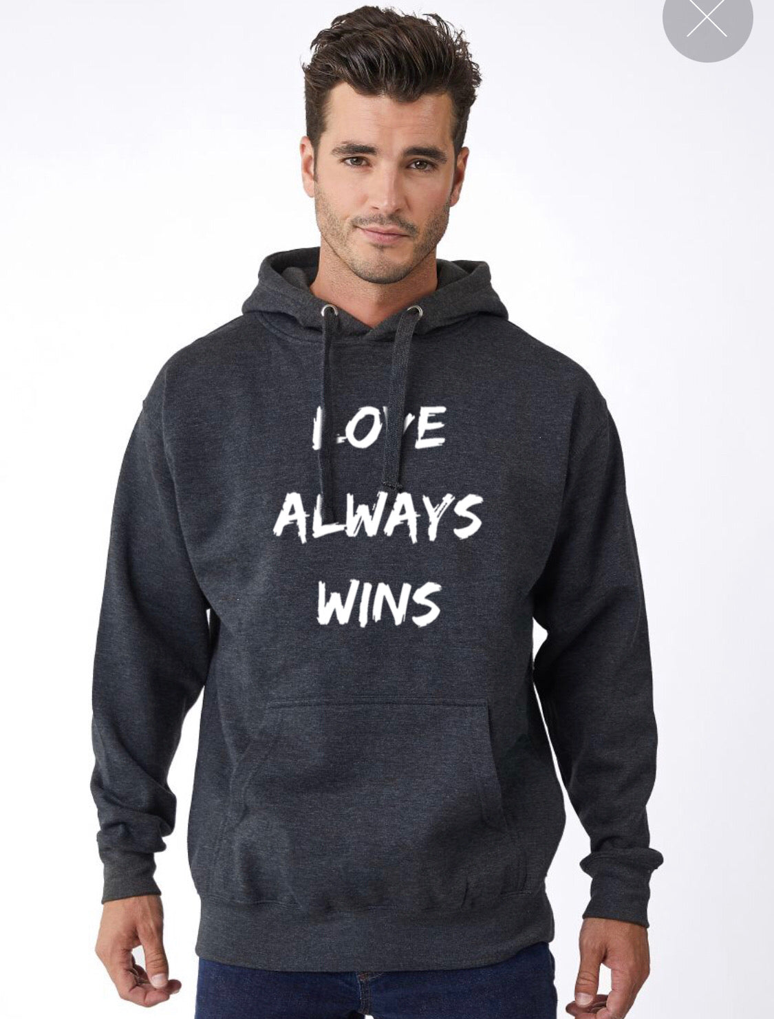 Love Always Wins hoodie (multiple color options)