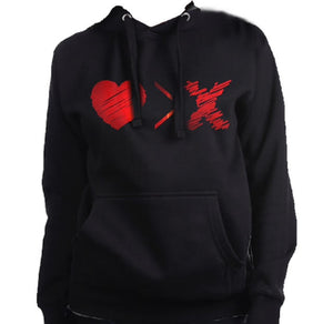 AGAPE 14th Logo Hoodie (black/red)