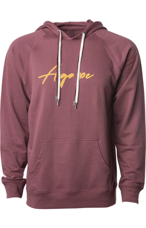 AGAPE gold script fashion hoodie (port)