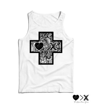The CROSS Collection by JON+DOE tank top