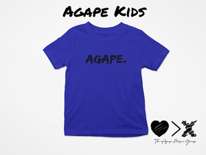 Blue/Black Agape T-shirt (Toddler and Youth)