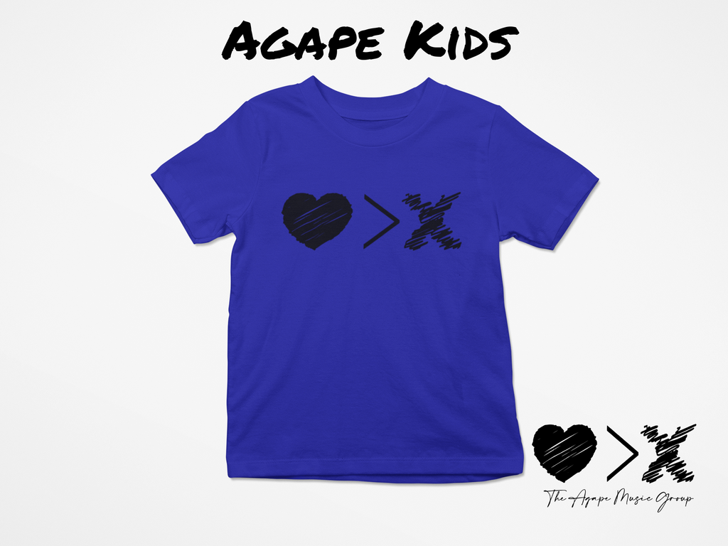 Blue/Black Logo T-shirt (Toddler and Youth)