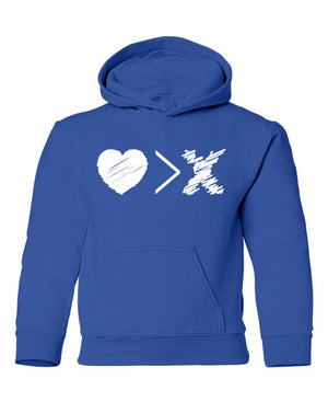 Blue/White Logo hoodie (Toddler and Youth)