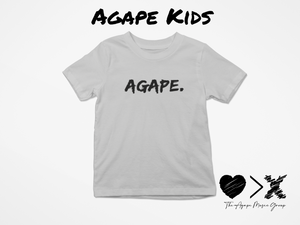 Grey/Black Agape T-shirt (Toddler and Youth)